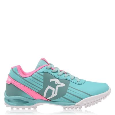 Adidasi hochei pe iarba Kookaburra Neon Juniors menta roz