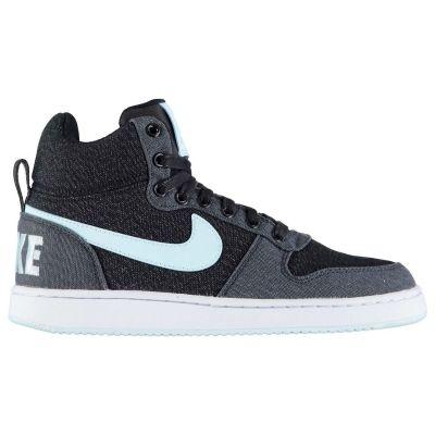 Adidasi inalti Adidasi sport Nike Court Borough Mid pentru Femei negru albastru