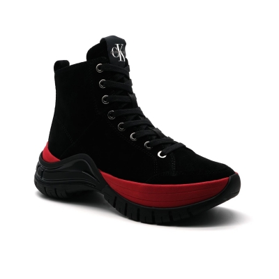Adidasi inalti Calvin Klein Jeans CKJ Timoth femei negru