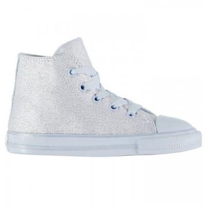 Adidasi inalti Converse Shiny albastru chill
