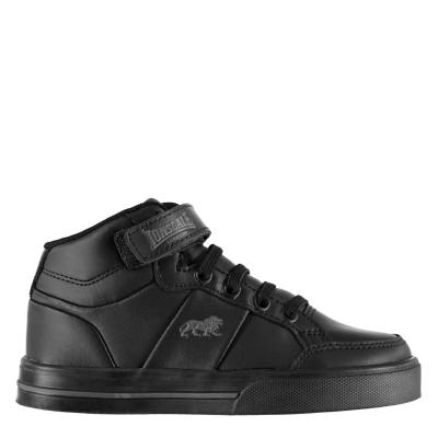 Adidasi inalti Lonsdale Canons pentru Copii negru gri carbune