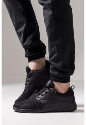 Adidasi Light Runner negru Urban Classics