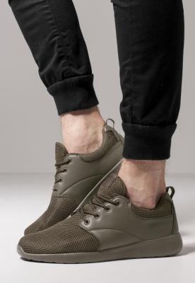 Adidasi Light Runner oliv inchis Urban Classics