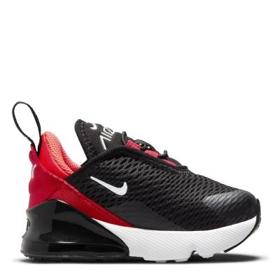 Adidasi Nike Air Max 270 baietei negru alb rosu