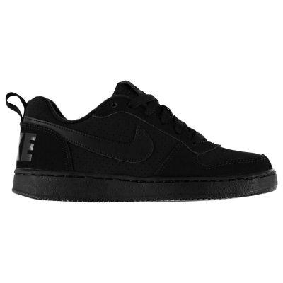 Adidasi sport Nike Court Borough pentru copii triple negru
