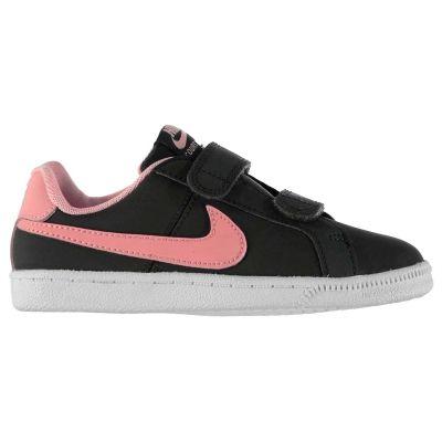 Adidasi sport Nike Court Royale pentru fete negru roz
