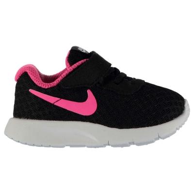 Adidasi sport Nike Tanjun pentru fete pentru Bebelusi negru roz