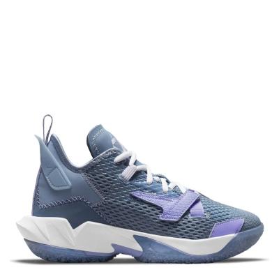 Adidasi pentru baschet Air Jordan Air Jordan WhyNot? pentru baietei albastru mov vlt