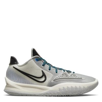 Adidasi pentru Baschet Nike Kyrie Low 4 pentru Barbati gri negru portocaliu