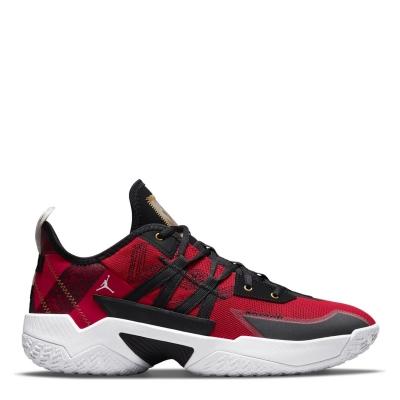 Adidasi pentru Baschet Nike One Take II pentru Barbati rosu auriu negru