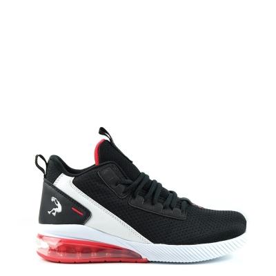 Adidasi pentru baschet SHAQ Analog pentru copii negru alb rosu