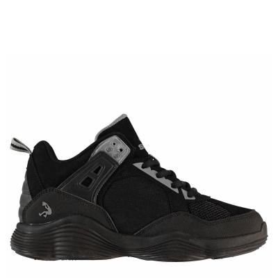 Adidasi pentru baschet SHAQ Diversion Juniors negru gri