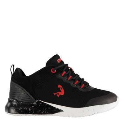 Adidasi pentru baschet SHAQ Explosive pentru Copii negru rosu