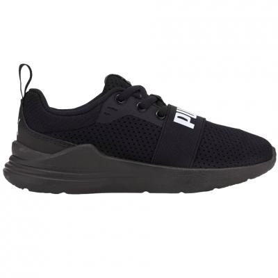 Adidasi Puma Wired Run negru 374216 01 pentru Copii