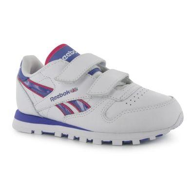 Adidasi sport Reebok clasic Tech pentru Copii alb mov roz