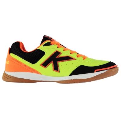 Adidasi sala Kelme K Strong verde lime portocaliu negru
