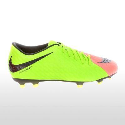 Ghete fotbal Nike Hypervenom Phade Iii Fg Barbati verde lime