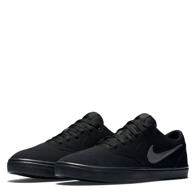 Adidasi skate panza Nike SB Check Solar pentru Barbati negru gri