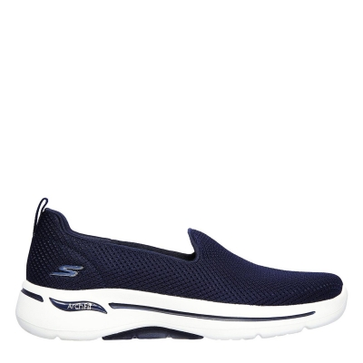 Adidasi Skechers Go Walk Archfit Shoes pentru femei bleumarin alb