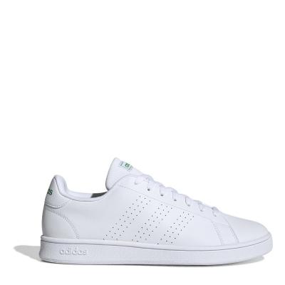 Adidasi sport adidas Advantage Base pentru Barbati alb verde