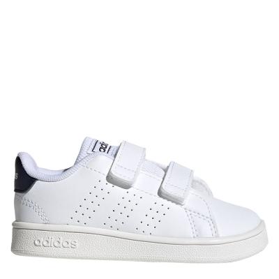 Adidasi sport adidas Advantage I pentru Bebelusi alb bleumarin