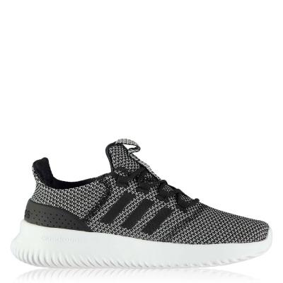 Adidasi sport adidas Cloudfoam Ultimate pentru copii gri negru alb