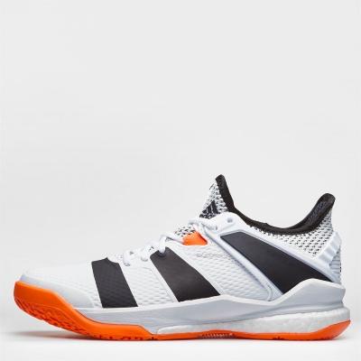 Adidasi sport adidas Court Stabil X pentru femei alb negru