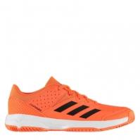 Adidasi sport adidas Court Stability Juniors solar portocaliu