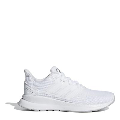 Adidasi sport adidas Falcon pentru baietei alb