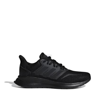Adidasi sport adidas Falcon pentru baietei negru