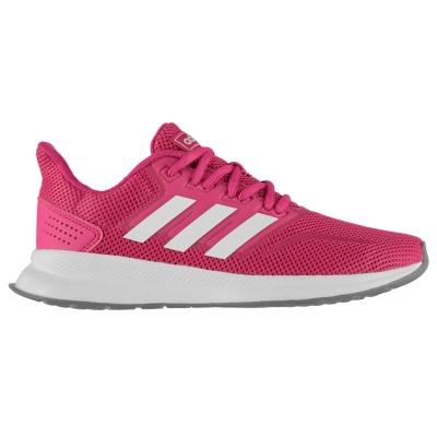 Adidasi sport adidas Falcon pentru Femei roz alb