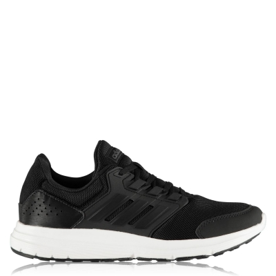 Adidasi sport adidas Galaxy 4 Cloudfoam pentru Barbati negru alb