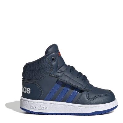 Adidasi sport adidas Hoops Court baietei bleumarin
