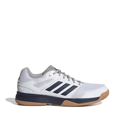 Adidasi sport adidas Speedcourt pentru Barbati alb bleumarin