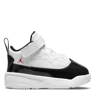 Adidasi sport Air Jordan Jordan Max Aura 2 pentru Bebelusi alb gym rosu negru