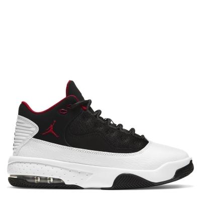 Adidasi sport Air Jordan Max Aura 2 pentru copii alb rosu negru