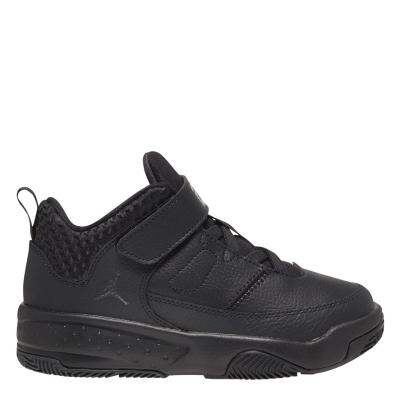 Adidasi sport Air Jordan Max Aura 3 Little pentru Copii negru gri