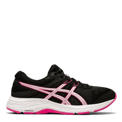 Adidasi sport Asics Gel Contend 6 pentru Femei negru roz