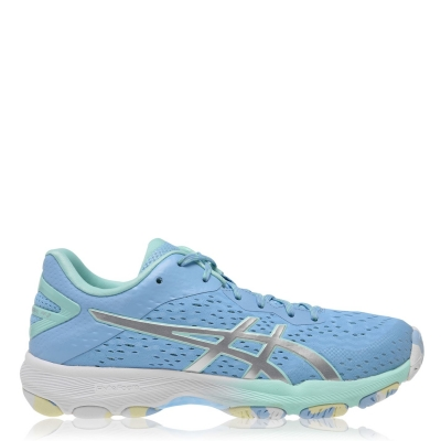 Adidasi sport Asics Netburner Professional FF 2 Netball albastru argintiu