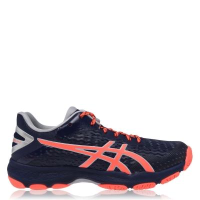 Adidasi sport Asics Netburner Professional FF 2 Netball albastru coral