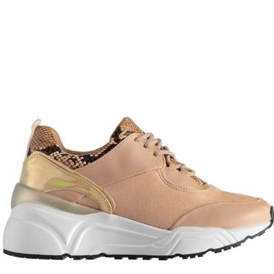 Adidasi sport Blink Glitch Mix roz auriu