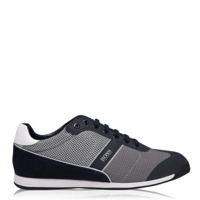 Adidasi sport Boss Boss Glaze plasa bleumarin