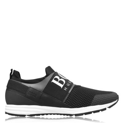 Adidasi sport BOSS Hybrid Runner negru