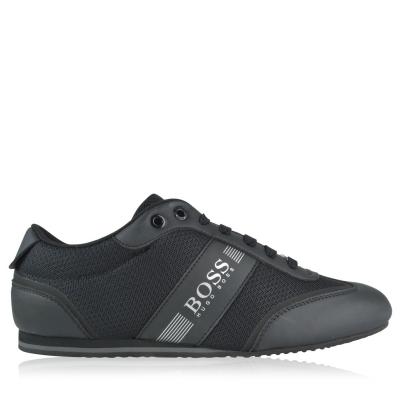 Adidasi sport BOSS Lighter Tech Low Top negru