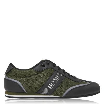 Adidasi sport BOSS Lighter Tech Low Top verde