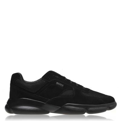 Adidasi sport BOSS Rapid Runner negru