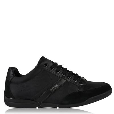 Adidasi sport BOSS Saturn Low Top negru