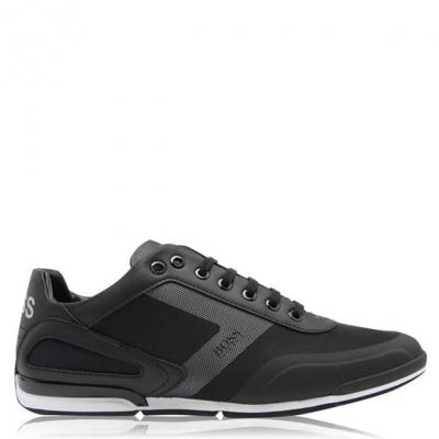 Adidasi sport Boss Saturn PU negru
