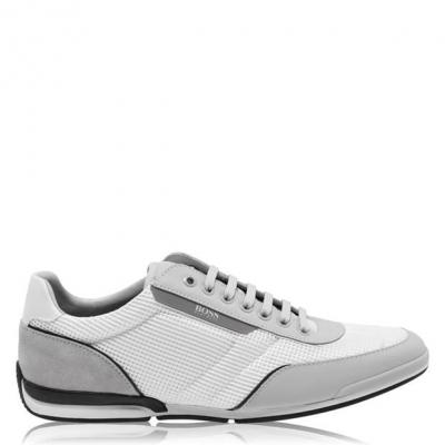 Adidasi sport Boss Saturn Sport plasa alb