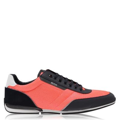 Adidasi sport Boss Saturn Sport plasa bleumarin portocaliu